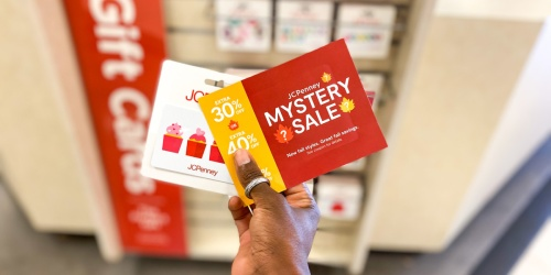 Up to 50% Off Entire JCPenney Purchase w/ Mystery Coupon Giveaway