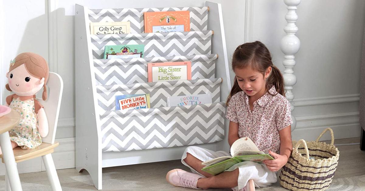 Kidkraft Woody Sling Support Bookcase Conscionable $34.99 Shipped On Amazon (regularly $60)