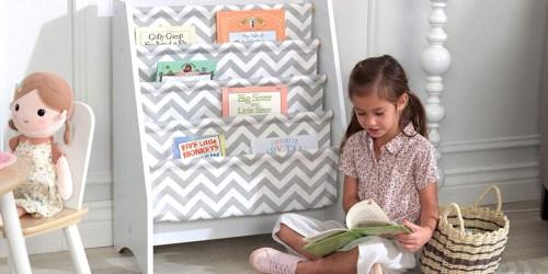 KidKraft Wooden Sling Shelf Bookcases Just $34.99 Shipped on Amazon (Regularly $60)