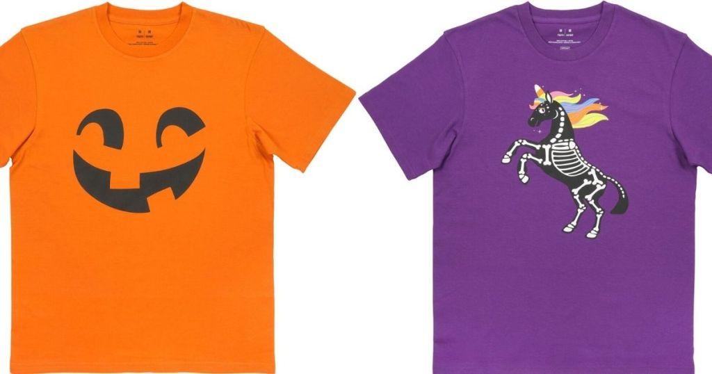 two Kids Halloween Shirts
