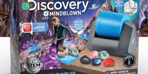 Discovery Toys 18-Piece Rock Tumbler Only $35.99 Shipped on Macy's.com (Regularly $90)