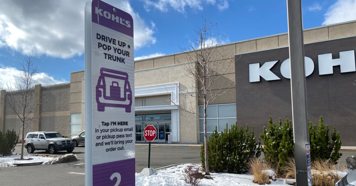 Kohl's drive up parking spot