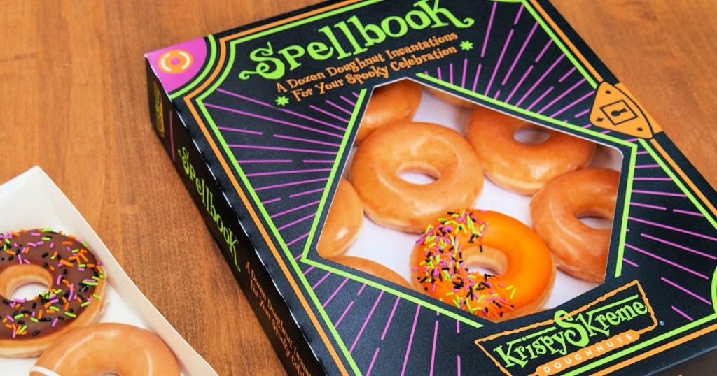 Krispy Kreme Scary Sharies Twelve Lone $1 W/ Any Twelve Acquisition