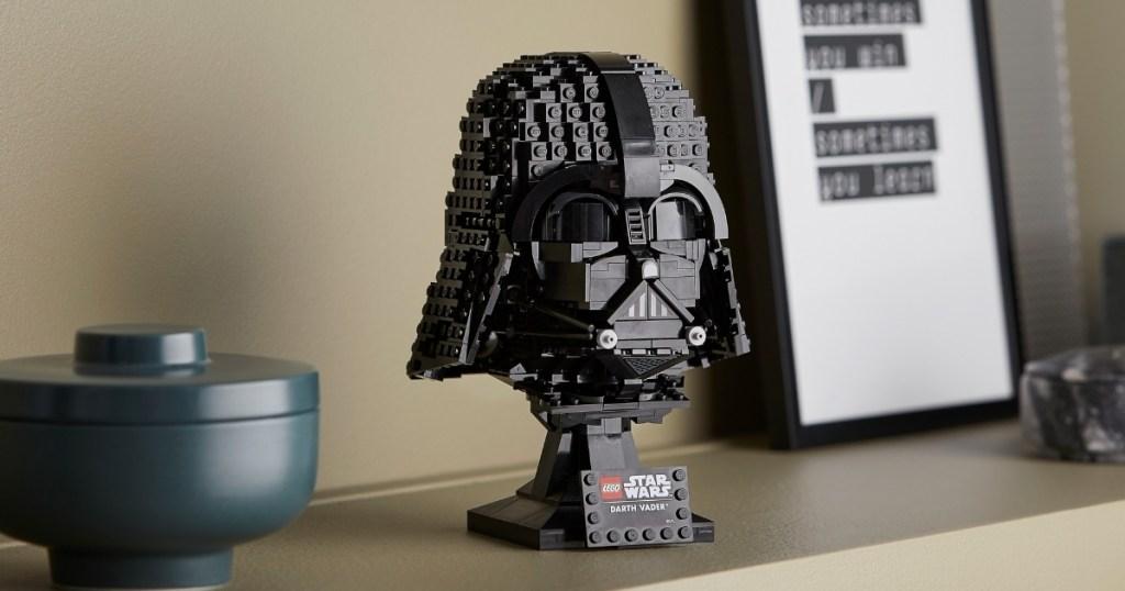 darth vader legos building set