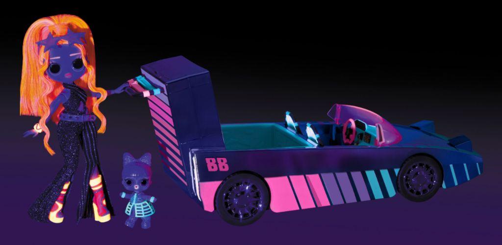 LOL Surprise Dance Machine Car and dolls