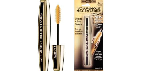 L'Oreal Voluminous Mascara Only $3.97 Shipped on Amazon