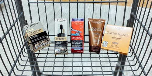 Up to 40% Off L'Oreal Paris Skin Care After Walgreens Rewards + FREE 8-Piece Gift Set