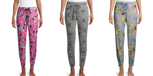 Women's Holiday Sleep Joggers w/ Pockets from $4 at Walmart | Friends, Disney, & More
