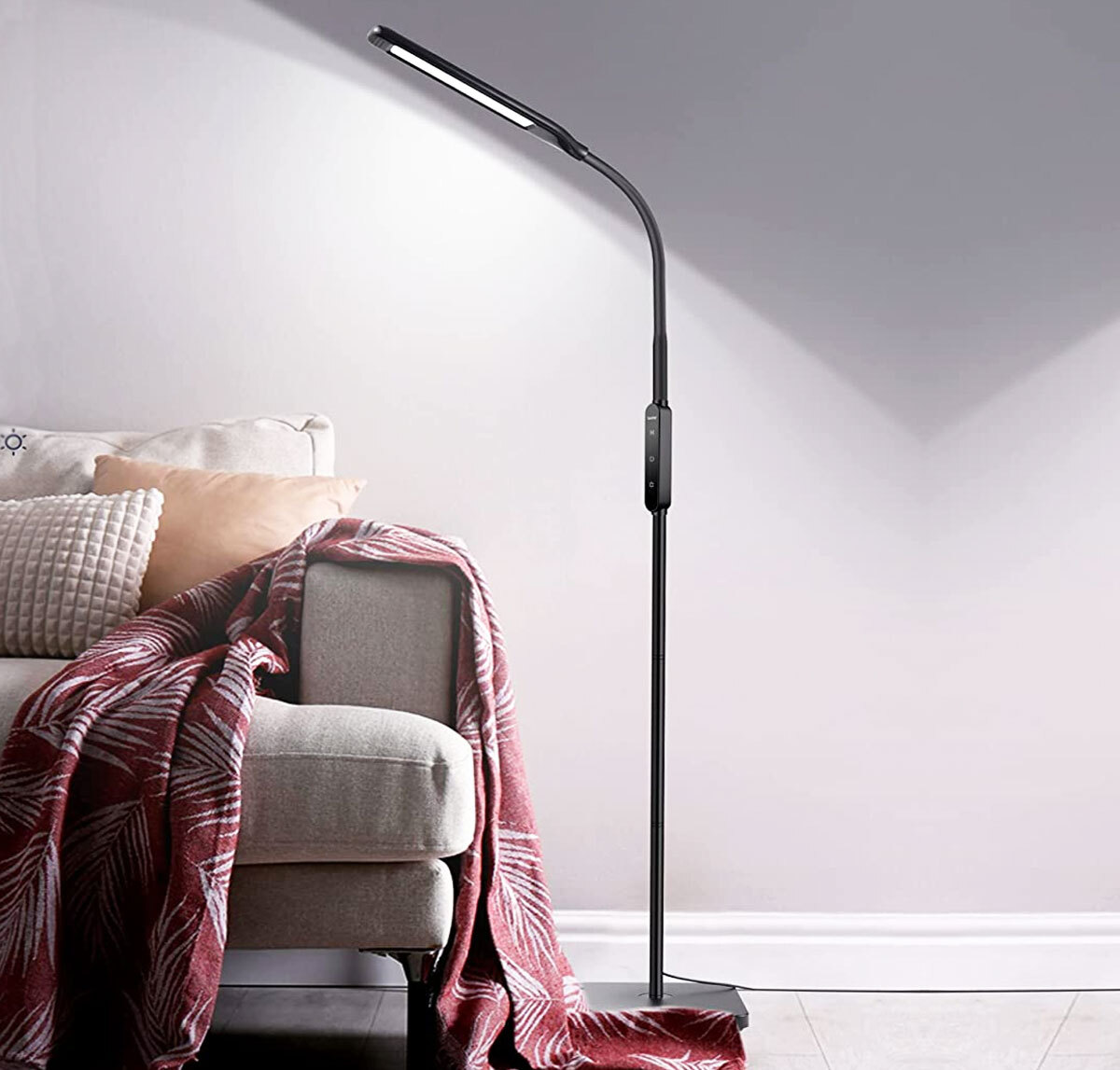 Lastar Standing Floor Lamp w/ 6000K Color Temperature