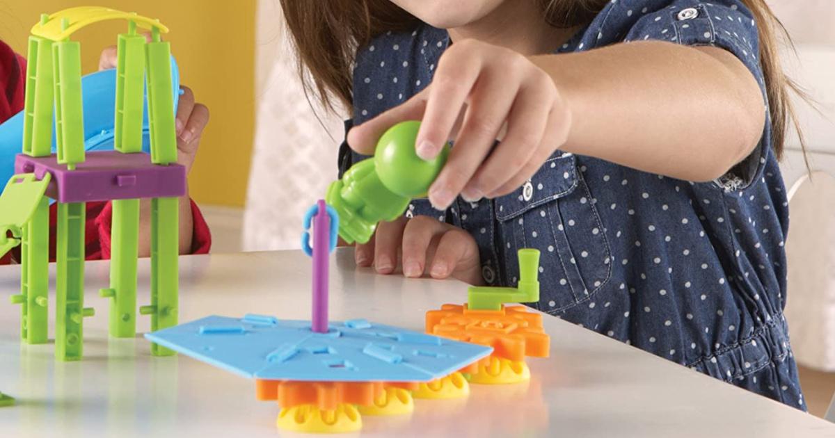 Learning Resources Playground Engineering & Design 104-Piece STEM Set