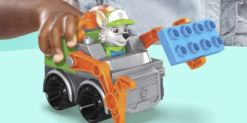 Mega Bloks PAW Patrol Building Sets w/ Character Figures from $7.99 on Amazon