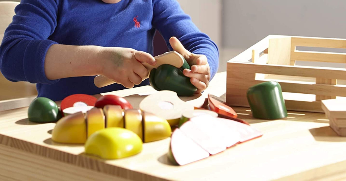 Melissa & Doug Cutting Food - Play Food Set