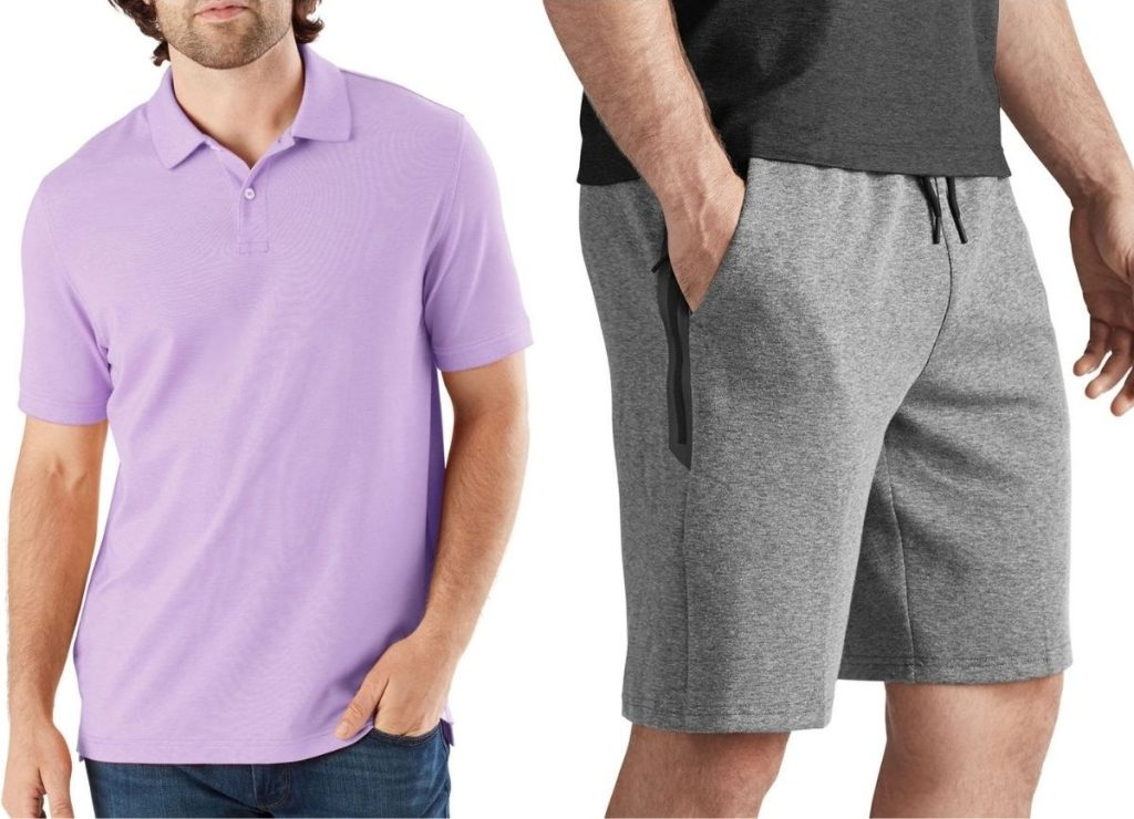 Members Mark Polo and Shorts for men