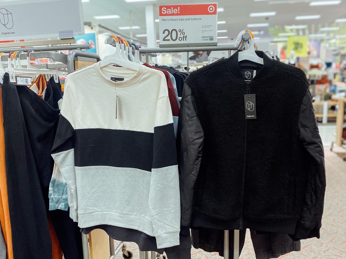 Men's Fleece Pullover-2