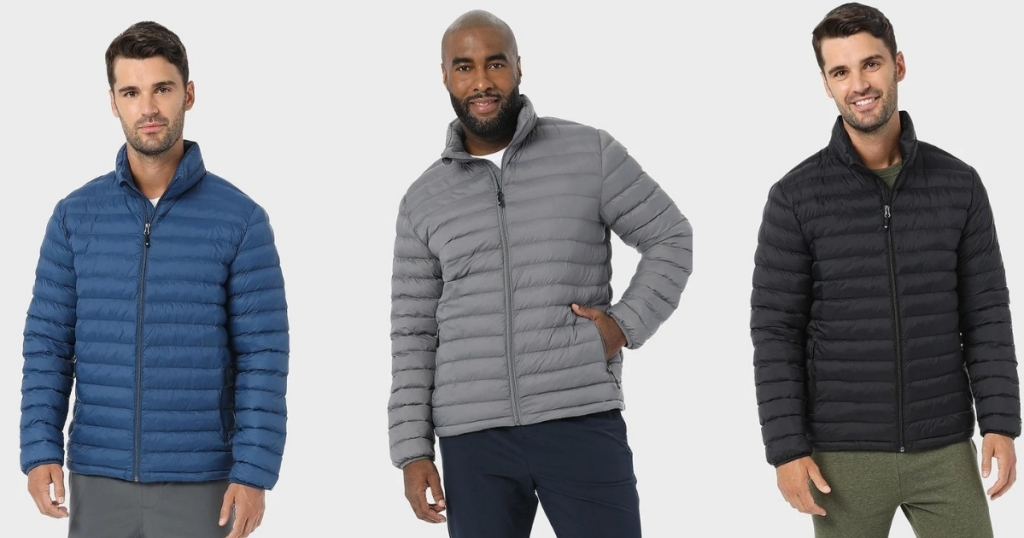 Men's Lightweight Recycled Poly-Fill Packable Jacket