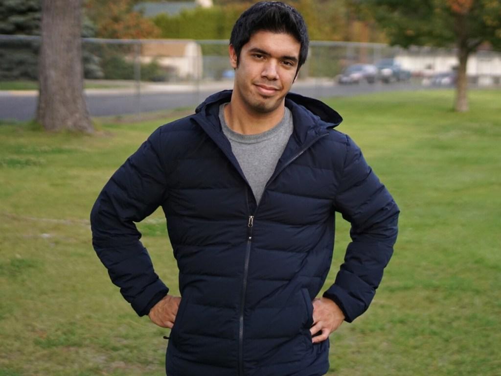 Men's Ultra-Light Down Packable Jacket