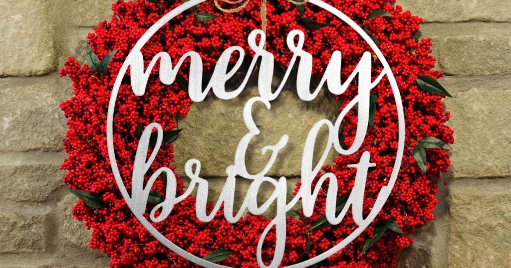 Metallic Wintertime Greetings Signs Conscionable $18.99 Shipped (regularly $60) | 9 Plan Options
