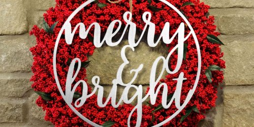 Metal Winter Greetings Signs Just $18.99 Shipped (Regularly $60) | 9 Design Options