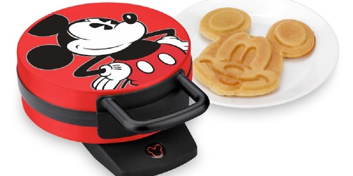 Disney Mickey Mouse Waffle Makers from $14 on Belk.com & Amazon