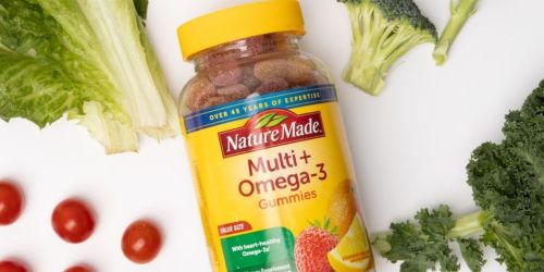 Nature Made Multivitamin + Omega-3 Gummies 80-Count Only $8 on Amazon (Regularly $16)