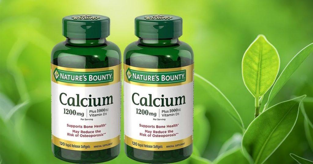 Nature's Bounty Calcium Supplement 120 2-Pack