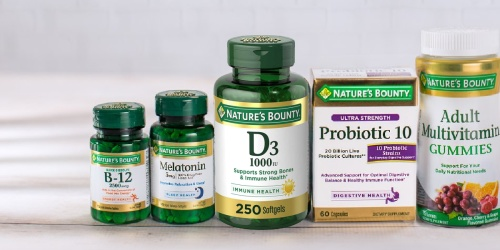 Nature's Bounty Vitamin D3 Softgels 250-Count Only $4.51 Shipped on Amazon (Regularly $13)