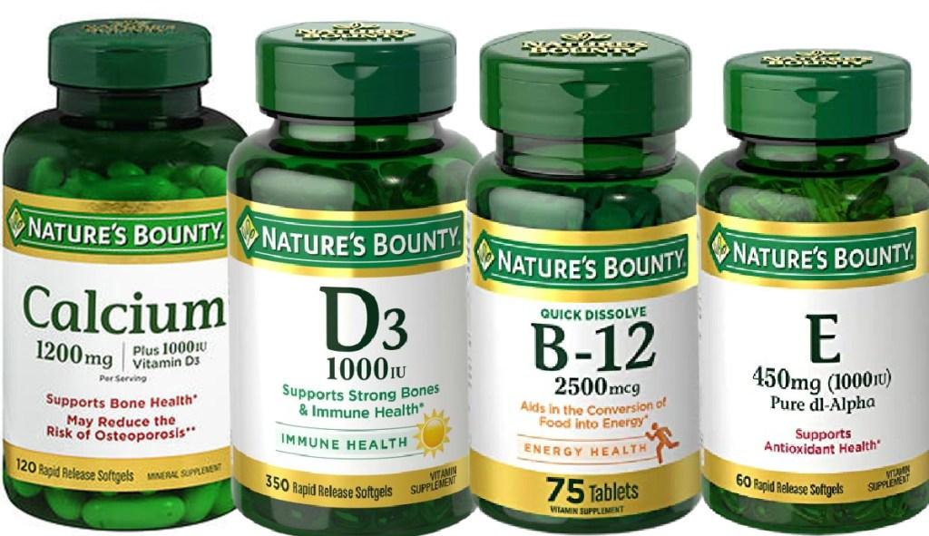 Nature's Bounty Vitamin E Supplement 60 soft gels