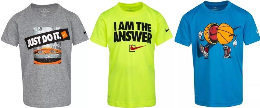Nike Boys Shirts