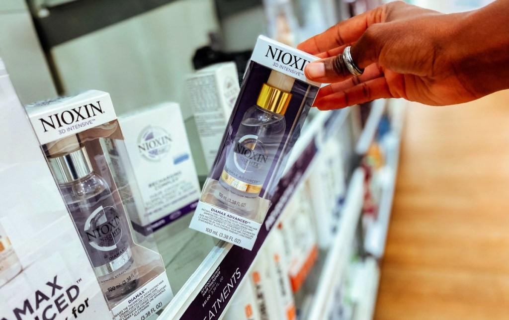 Nioxin hair treatments