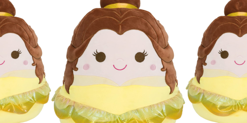 Pre-Order Squishmallow Disney 14-Inch Belle Now for $29.99 Shipped on Amazon