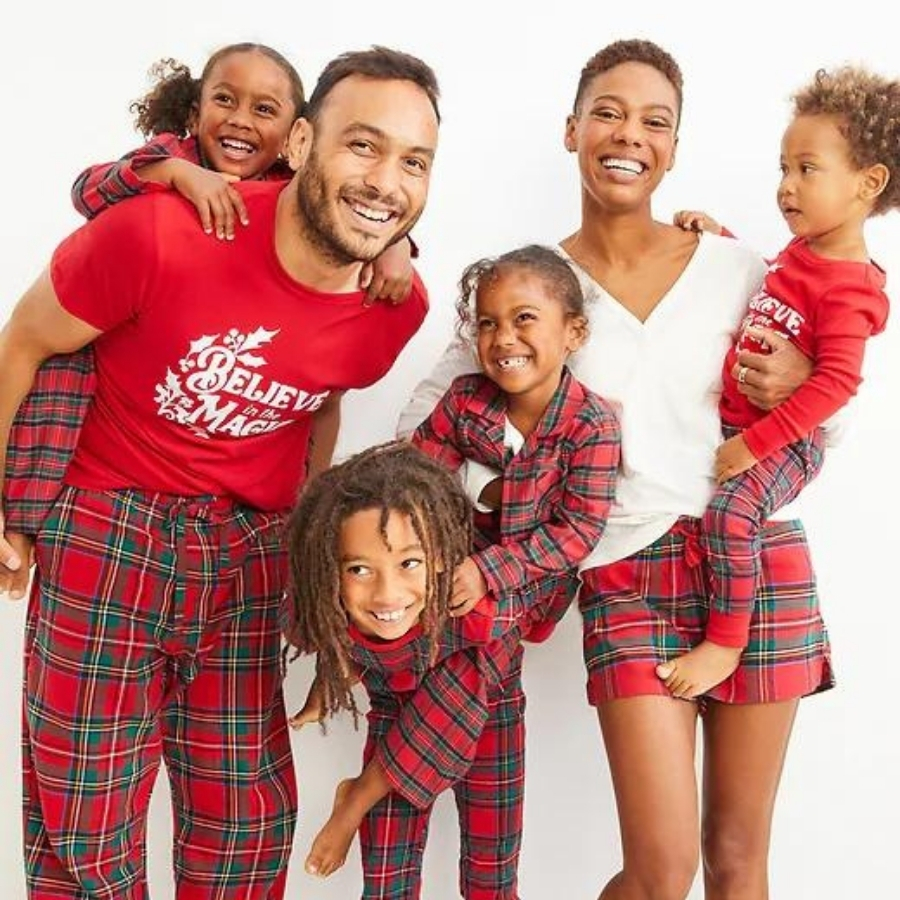 Old Navy Flannel Pajamas for the Famil