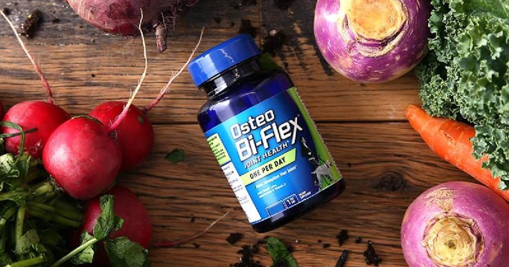 Osteo Bi-Flex Glucosamine w/Vitamin D & Immune Support 60-Count Coated Tablets