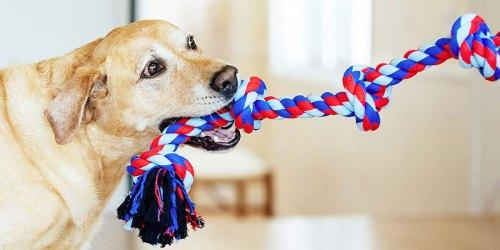Outward Hound Rope Dog Toy Only $5.62 Shipped on Amazon (Regularly $10)