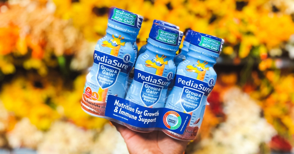 $15 Off Pediasure 6-pack Coupon   40% Off Mark Message
