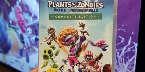Plants vs Zombies Complete Edition Nintendo Switch Game Only $19.99 on Amazon (Regularly $40)