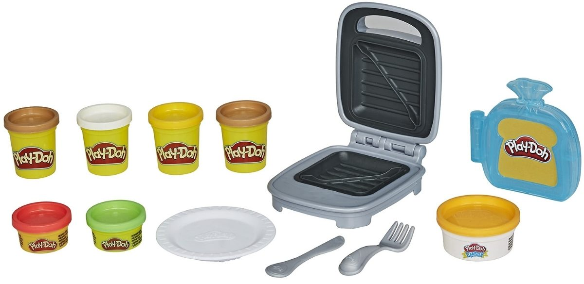Play-Doh Kitchen Creations Cheesy Sandwich Play Set