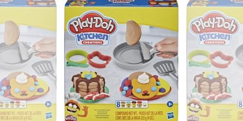 Play-Doh Kitchen Creations Pancakes Playset Just $6.39 on Amazon (Regularly $11)