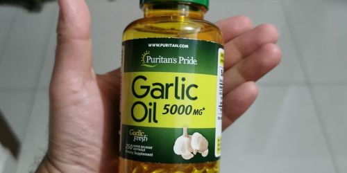 Puritan's Pride Garlic Oil 5000mg 250-Count Softgels Only $4.53 Shipped (Regularly $9)