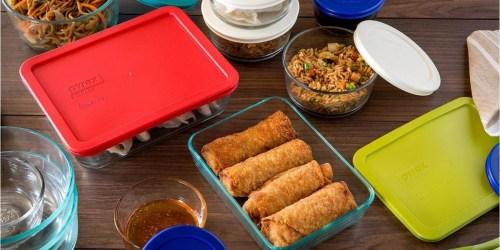 Pyrex 22-Piece Glass Food Storage Set Only $28.99 on Macys.com (Regularly $72)