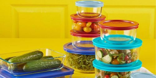 Pyrex 22-Piece Glass Storage Sets from $14.99 Each (Regularly $60) + Free Shipping for Select Kohl's Cardholders