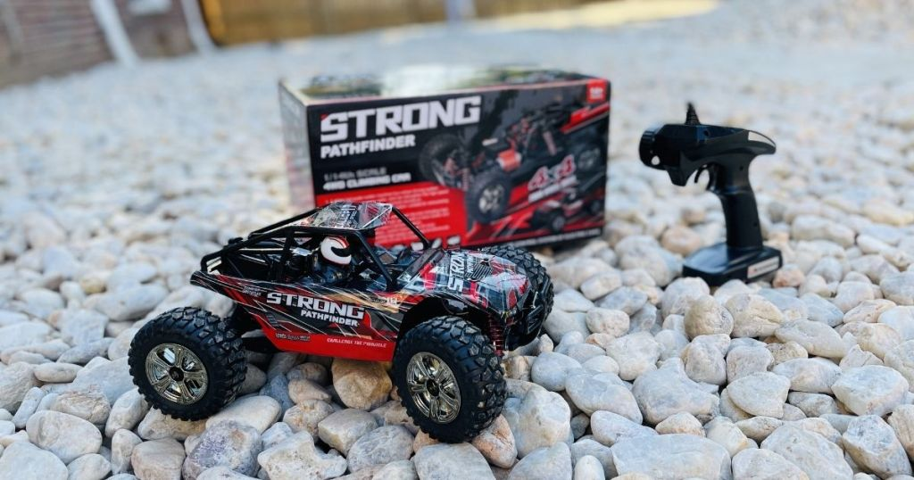All-terrain Distant Power Car Lone $43.99 Shipped On Amazon | Running Led Headlights & Hits Speeds Complete 20mph