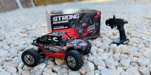 All-Terrain Remote Control Car Only $43.99 Shipped on Amazon | Working LED Headlights & Hits Speeds Over 20MPH