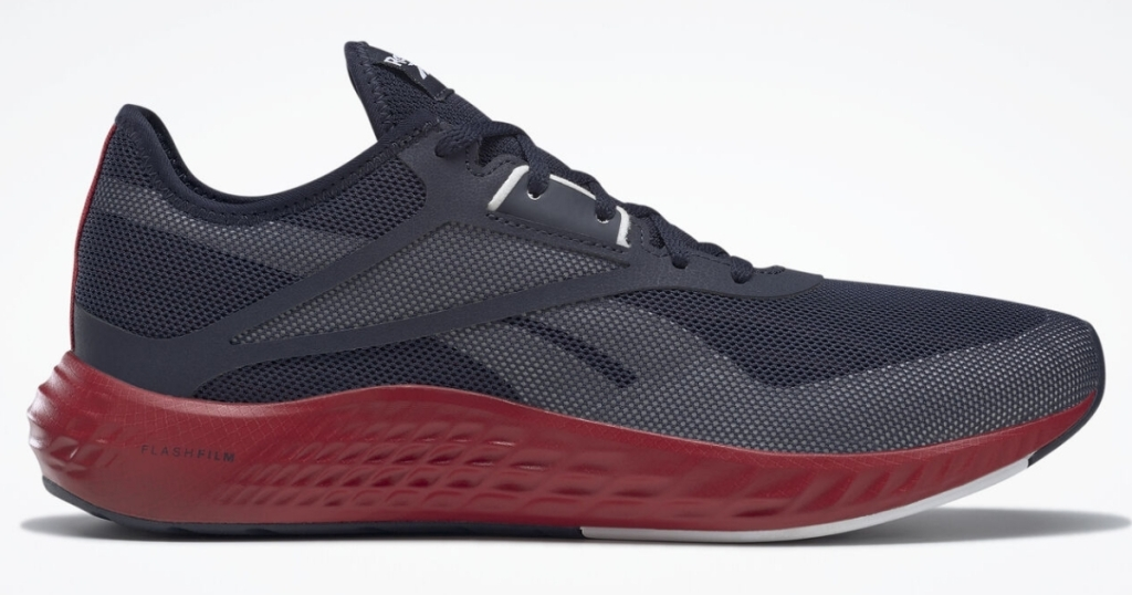 reebok men's flashfilm 3 running shoes in navy