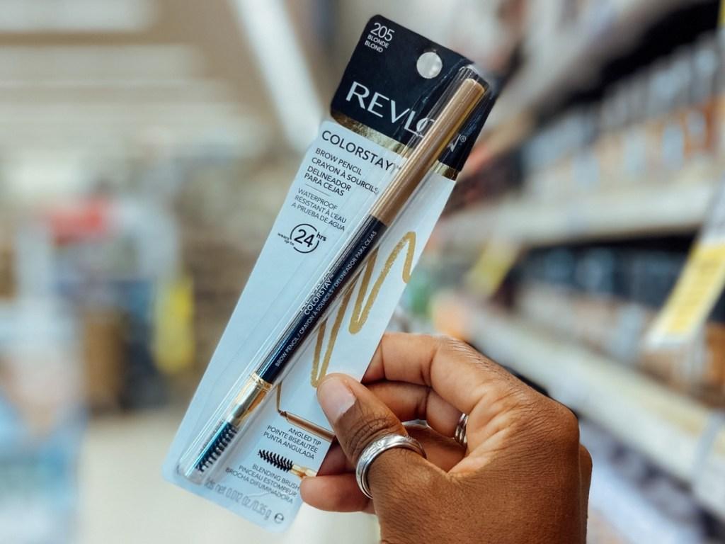 revlon colorstay brow pencil in store