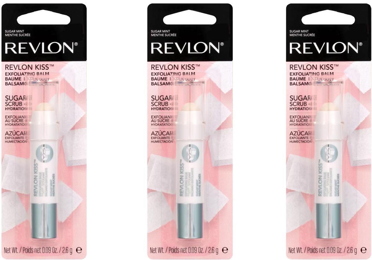 Revlon brand exfoliating balm