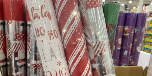 Double-Sided Wrapping Paper 3-Packs Only $11.99 at Costco   These Huge Rolls Last Forever