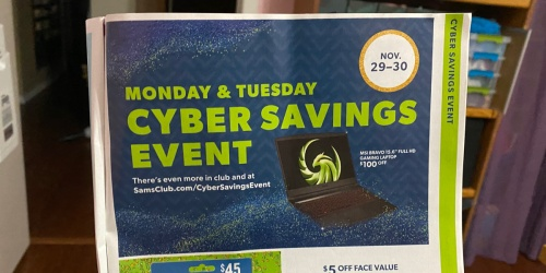 Sam's Club 2021 Cyber Monday Sale Preview | We're Sharing All the Hottest Upcoming Deals!