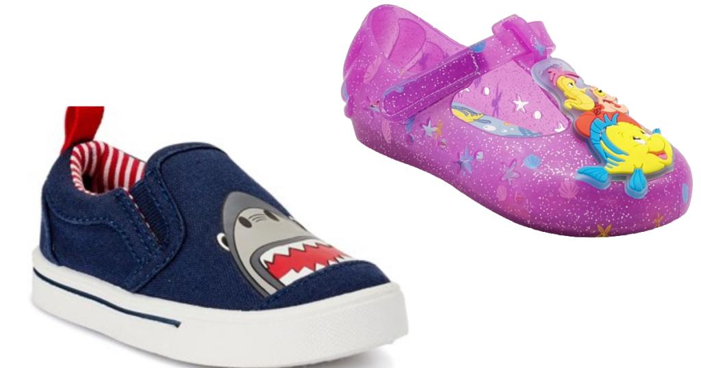 Shark or Little Mermaid Shoes