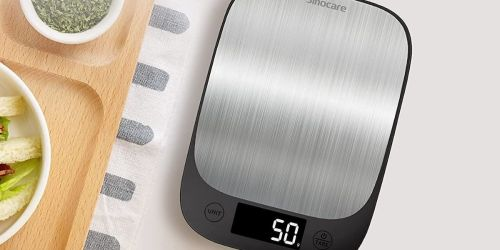 Bluetooth Digital Food Scale Only $7.99 on Amazon | Great for Portion Control
