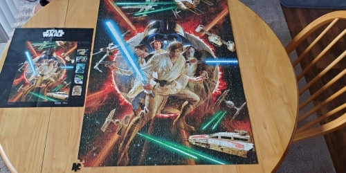 Buffalo Games Star Wars 1000-Piece Jigsaw Puzzles from $7.64 Each on Amazon